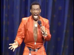 Eddie Murphy doing stand up